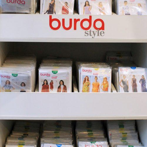 BURDA piegrieztnes - visdažādākajiem apģērbu modeļiem