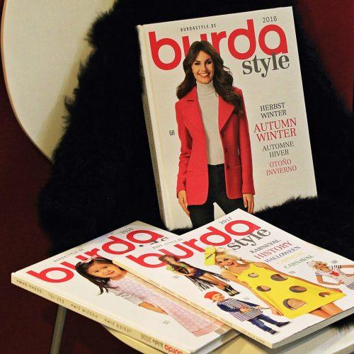 BURDA piegrieztnes - meklē aktuālāko arī BURDA jaunākajos katalogos